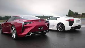 lexus sport car lfa lexus lfa u0026 lf lc a supercar meeting an avant garde beauty youtube