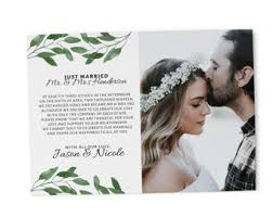 wedding announcement cards nothing fancy just elopement announcement cards wedding