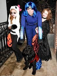 Unconventional Halloween Costumes Brooke Shields U0027 Electric Blue Citibike Earns Spot