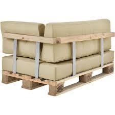 interieur et canapé 1x coussin d angle en beige pour intérieur et extérieur rembourré