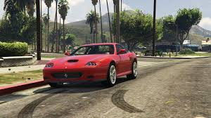 lifted ferrari 2002 ferrari 575m maranello add on replace gta5 mods com