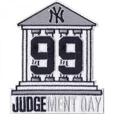 new york yankees aaron judge 99 courthouse judgement