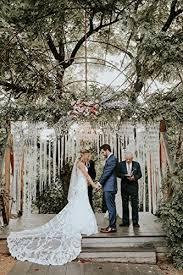 wedding backdrop garland large macrame wedding garland customizable by width backdrop for
