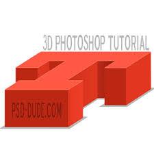 3d letter photoshop tutorial photoshop tutorial psddude