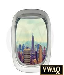 new york city empire state building airplanes wall decal window
