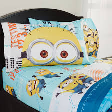 despicable me u0027minions u0027 bedding sheet set walmart com