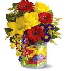 birthday boquets birthday ribbon bouquet flower bouquets a gift that says
