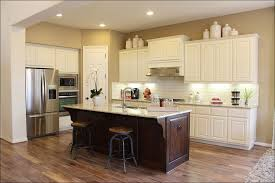Red Kitchen With White Cabinets Kitchen Kitchen Color Ideas Kitchen Paint Colors With Brown