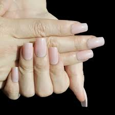Light Pink Acrylic Nails Press On Nails Picture More Detailed Picture About Light Pink