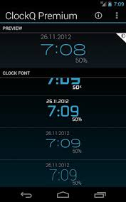 digital clock widget apk clockq digital clock widget apk for android