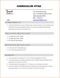 cv resume format stunning format of resume for apply in cv resume format pdf pdf