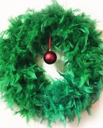 white feather wreath angelwreaths com