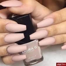 matte pink coffin nails nails pinterest coffin nails art