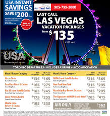 save 200 per on last call las vegas vacation packages