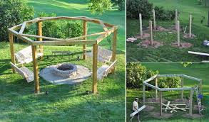 Firepit Swing Diy Porch Swing Pit Home Design Garden Architecture