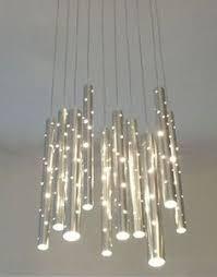 Cool Modern Chandeliers Lighting Design Ideas Metal Glass Kitchen White Mini Modern