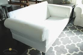 Affordable Slipcovers White Ikea Ektorp Furniture Review Must Have Care Essentials