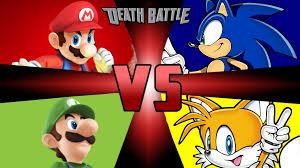 mario sonic luigi tails death battle fanon wiki