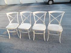 Distressed Bistro Chair Graywash Bistro Dining Chairs Set Of 2 French Bistro Dining
