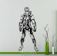 Decoration Kids Wall Decals Home by Aliexpress Com Buy Green Arrow Poster Wall Art Sticker Superhero