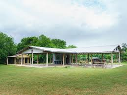 Texas Ranch House Ranch House Pond Lighted Pavilion Basketball Volleyball Courts
