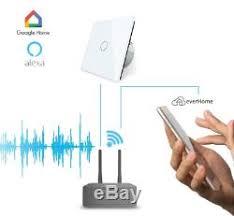 alexa light switch dimmer livolo smarthome touch rc light switch dimmer glass alexa voice control