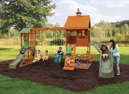 Big Backyard Swing Set 12 Best Outside Play House Images On Pinterest Backyard Ideas