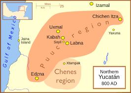 Mayan Empire Map Maya Maps