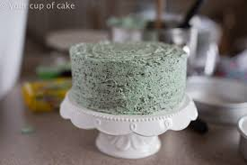 Decorating Cakes At Home Thin Mint Cake Your Cup Of Cake