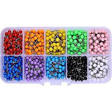 map tacks push pins 1 8 inch diameter tacks