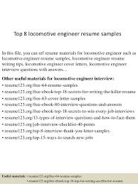 top 8 locomotive engineer resume samples 1 638 jpg cb u003d1431451808