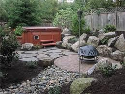Rock Garden Bellevue Kirkland Landscaping Of Backyard Hillside
