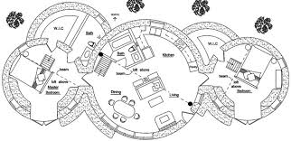 dome homes floor plans roundhouse dome cluster natural building blog
