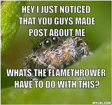 Shower Spider Meme - gallery for misunderstood spider meme shower inspire because