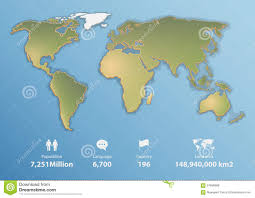Blank Map World Map by World Map Blank Stock Illustration Image 55826034