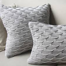 Knitted Cushion Cover Patterns Aliexpress Com Buy Brief American Wool Knitted Cushion Case