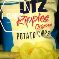 ripples chips utz ripples crisp all ripple cut potato chips reviews