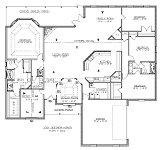 4 bedroom floor plans best 4 bedroom floor plans gallery house design interior