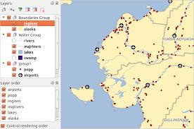 fungsi layout peta dalam sig adalah qgis gui