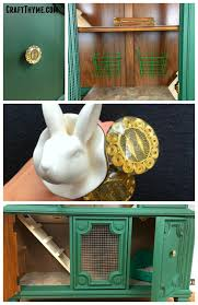 Heavy Duty Rabbit Hutch Make A Indoor Rabbit Hutch From A China Cabinet U2022 Craft Thyme