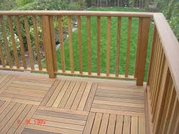 Patio Railing Designs Exterior Wooden Railing Designs House Design And Planning