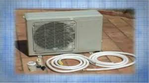 installation of an air conditioning system ductless minisplit