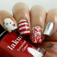 patriotic nails by mai painted nails on ig tips patriotic
