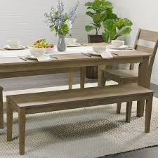 Wooden Bench And Table Distressed Wood Harrow Dining Table World Market