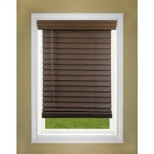 interior 1 inch faux wood blinds with smooth touch and easy