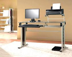 Metal Corner Computer Desk Glass Computer Desk Corner Black Glass Top Desk Large Size Of Desk