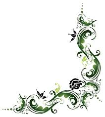 green ornaments floral design 01 vector floral vector ornament