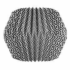 suspension maison du monde zigzag black white paper origami suspension d 33cm jungle room