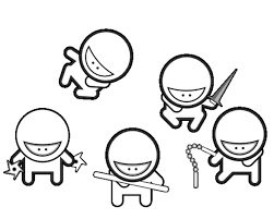teenage mutant ninja turtles coloring pages leonardo printable