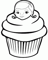 coloring pages cupcakes cookies coloring